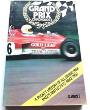 Grand Prix Chronology (Hirst  1972)